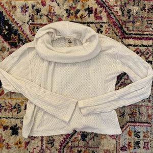 Free People Cowl Neck thermal